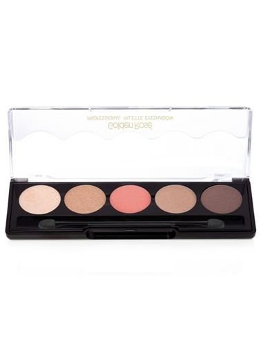Golden Rose  Professional Palette Eyeshadow 5x1.6g Renkli